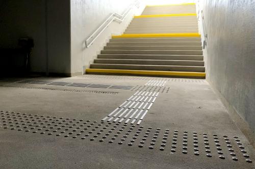 Linie prowadzące dla niewidomych PKP Małkinia INNOVARE