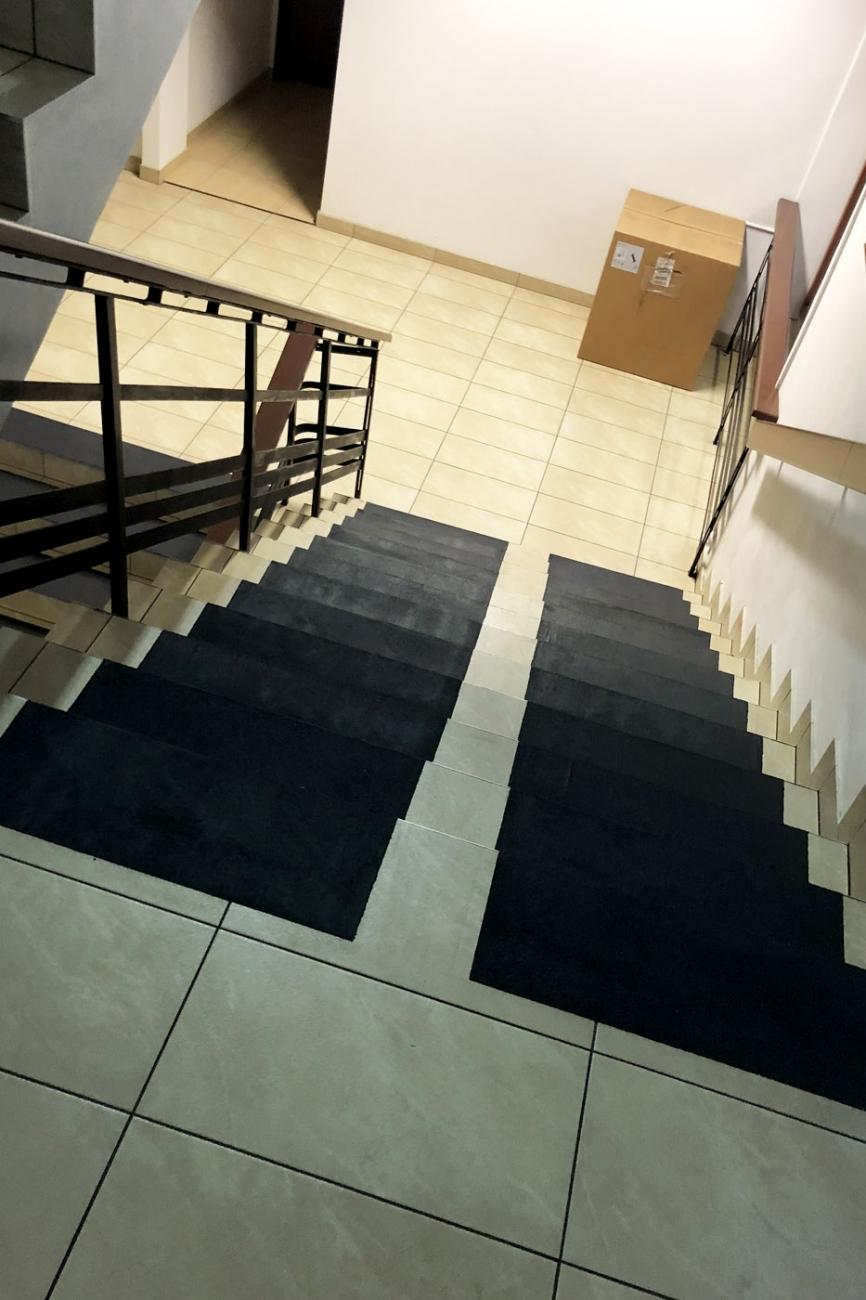 Pasy antypoślizgowe na schody czarne INNOVARE